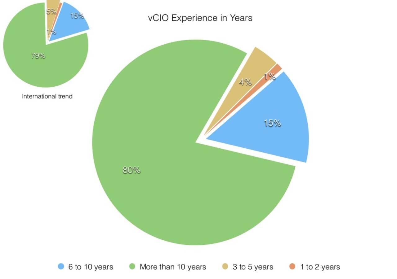 vCIO experience - United States America