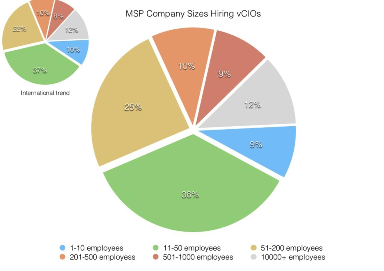 vCIOs in MSP companies - United States America