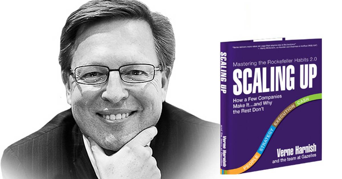 Scaling up your MSP with Verne Harnish